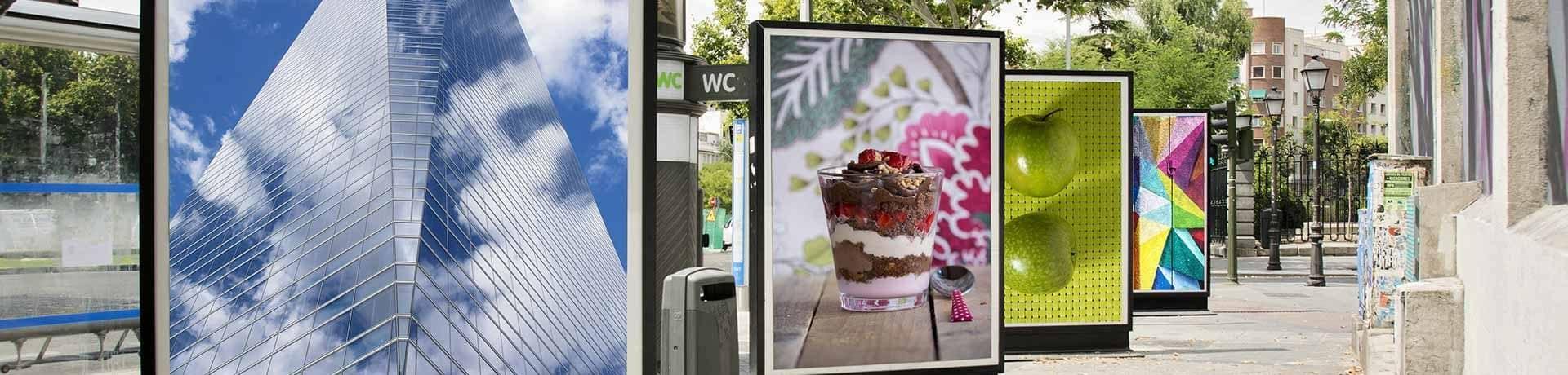 Digitaldruck für Werbemittel Aussenbereich